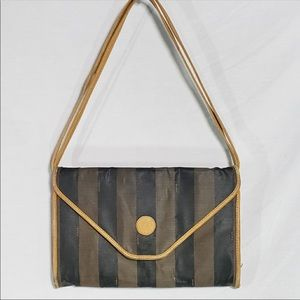 Vintage Fendi roma adjustable strap bAg/clutch